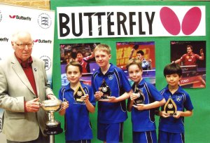 Park School National Table Tennis Champions