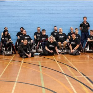 Dorset Destroyers Support Local Player at Invictus Games