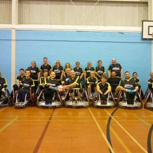 The Dorset Destroyers Wheelchair Rugby Club finally started in Super Series League