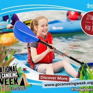 Join in with The Big Adventure this National Go Canoeing Week