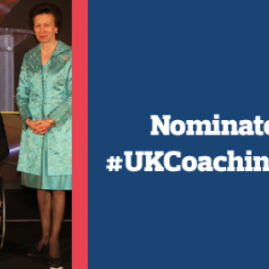 Time is running out to nominate for UK Coaching Awards