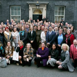 Downing Street hosts business owners for Small Business Saturday