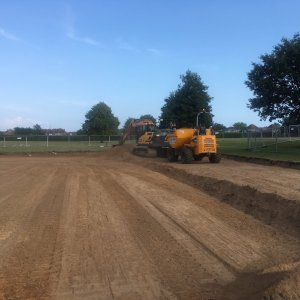 Work begins on Slades Park 3G Pitch