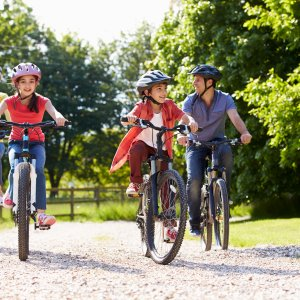 Cycling as a family positively impacts children's mental wellbeing