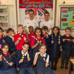 Brownlee Brothers Launch National Campaign to Build School Health Legacy