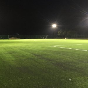 New FIFA standard 3G floodlit football pitch at Slades Park
