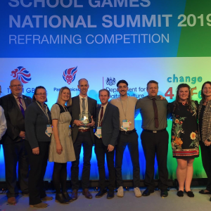 National Recognition for Christchurch & Purbeck School Games Organiser