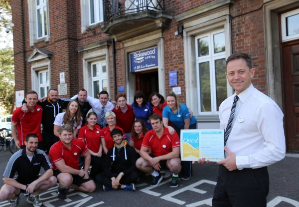 Stokewood Leisure Centre tops UK quality charts