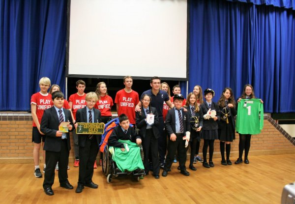 Gillingham School Play Unified Project – From Exeter to the House of Lords!