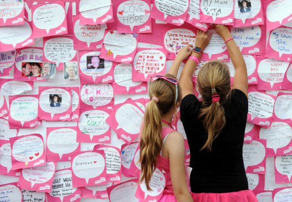 Make a date to join the Race for Life in Bournemouth & Poole