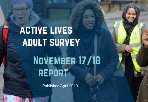 Active Lives survey shows inactivity reduction in Dorset