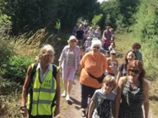 The Great Big Family Health Walk in Gillingham