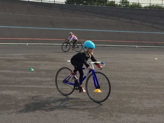 Junior Track Cycling Sessions at the Bournemouth Velodrome
