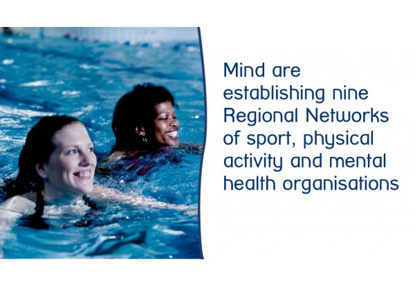 Mind announce the creation of nine sport, physical activity and mental health Regional Networks
