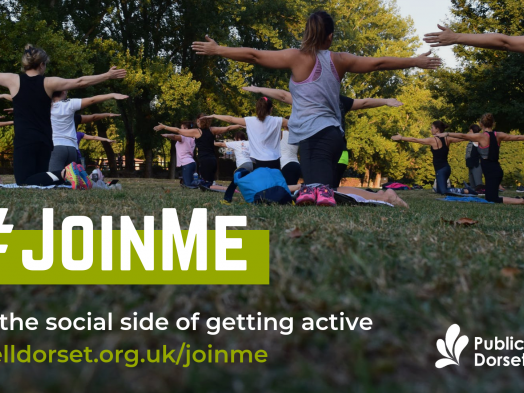 #JoinMe Campaign encourages Dorset to move more