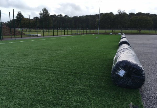 3G pitch nearing completion