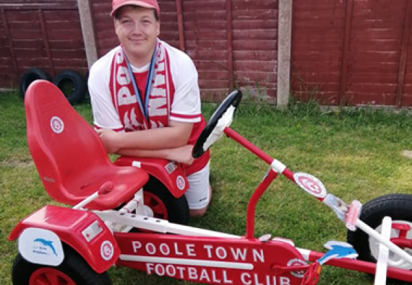 Ready, Steady, Go-Kart: Josh's Challenge for Cherished Football Club