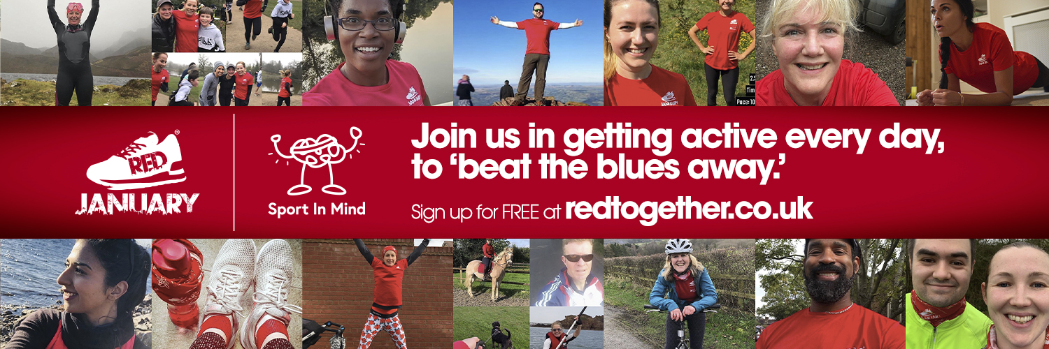Join us in getting active every day with RED January