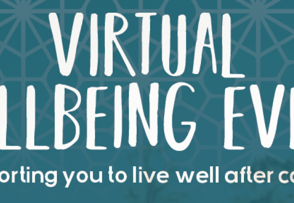 Virtual wellbeing event for cancer patients