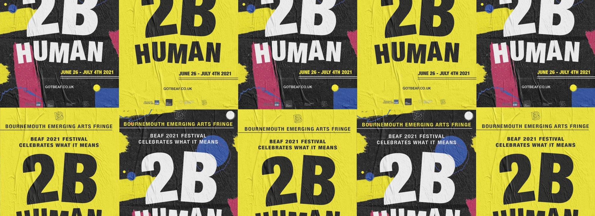 BEAF Festival 2021 - 2B Human Banner